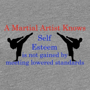 A Martial Arts Knows #1 - Kicks - Women's Premium T-Shirt