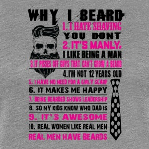 beard - Women's Premium T-Shirt