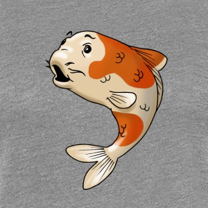 pisces fish goldfish koi - Women's Premium T-Shirt