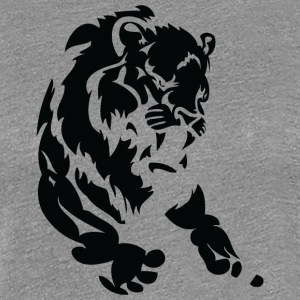 lion_black - Women's Premium T-Shirt