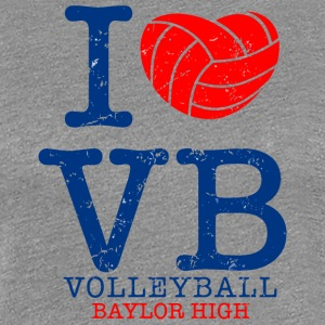 Volleyball Baylor High - Women's Premium T-Shirt
