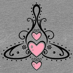 Celtic symbol, mother with three children. - Women's Premium T-Shirt