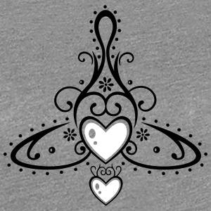 Celtic symbol, mother with two children. - Women's Premium T-Shirt