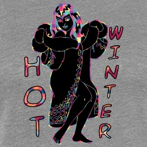 HOT_WINTER_BLACK - Women's Premium T-Shirt
