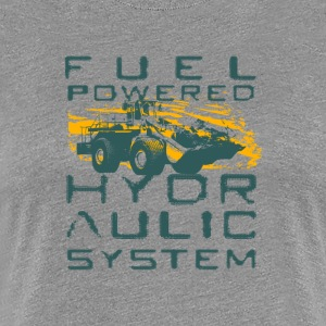 FUEL POWERED HYDROLIC SYSTEM - Women's Premium T-Shirt