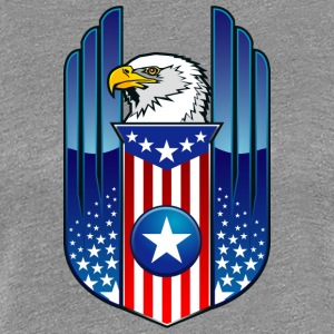 american_eagle_and_flag - Women's Premium T-Shirt