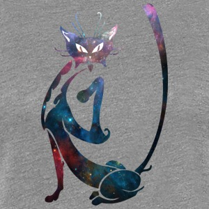 Galaxy_cat_9 - Women's Premium T-Shirt