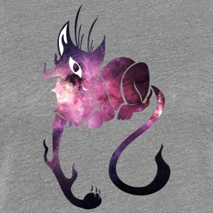 Galaxy_cat_15 - Women's Premium T-Shirt