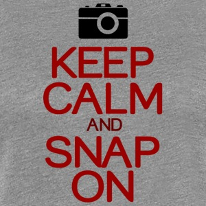 Keep calm snap on - Women's Premium T-Shirt