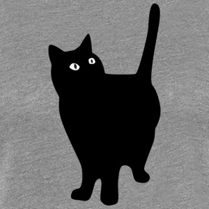 black_fat_cat - Women's Premium T-Shirt