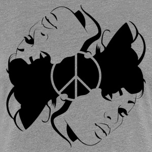 Peace of Mind - Black - Women's Premium T-Shirt