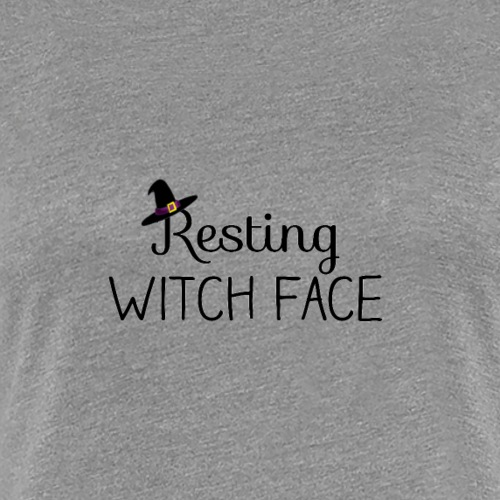 WitchFace - Women's Premium T-Shirt