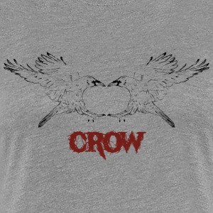 Mirror Crow - Women's Premium T-Shirt