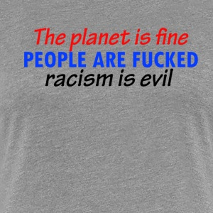 cool racist designs - Women's Premium T-Shirt