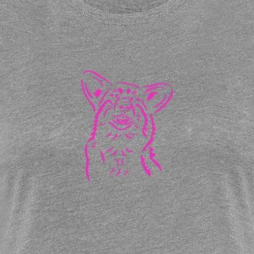 Happy Corgi - Women's Premium T-Shirt