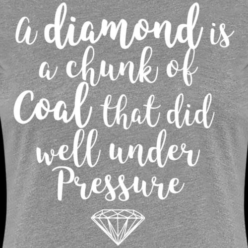 diamond white - Women's Premium T-Shirt