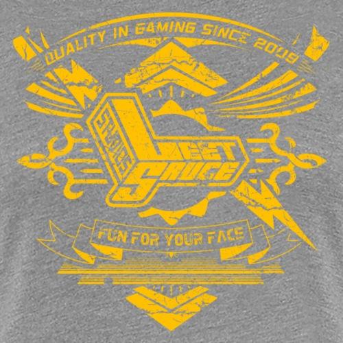 Vintage Leet Sauce Studios Crest Gold - Women's Premium T-Shirt