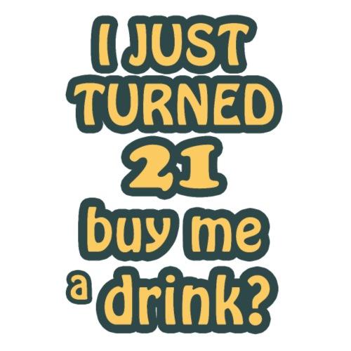 Buy me a drink? - Women's Premium T-Shirt