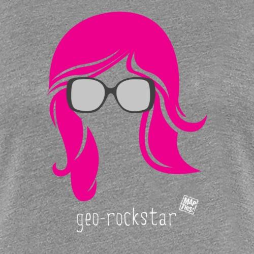 Geo Rockstar (her) - Women's Premium T-Shirt