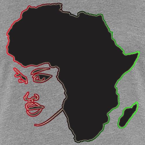 Afrika is Woman - Women's Premium T-Shirt