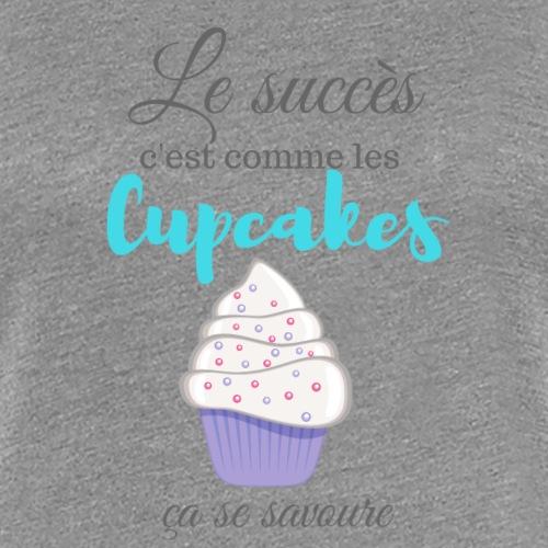 Le Succès c est comme les cupcakes - Women's Premium T-Shirt