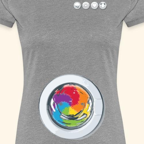 Rainbow Laundry - Women's Premium T-Shirt