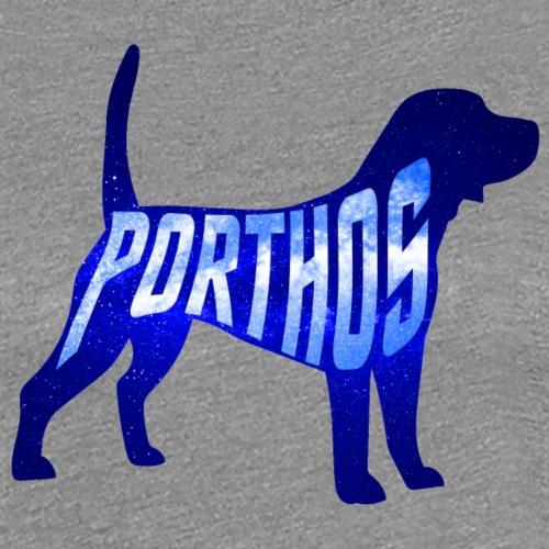Porthos Dog - Women's Premium T-Shirt