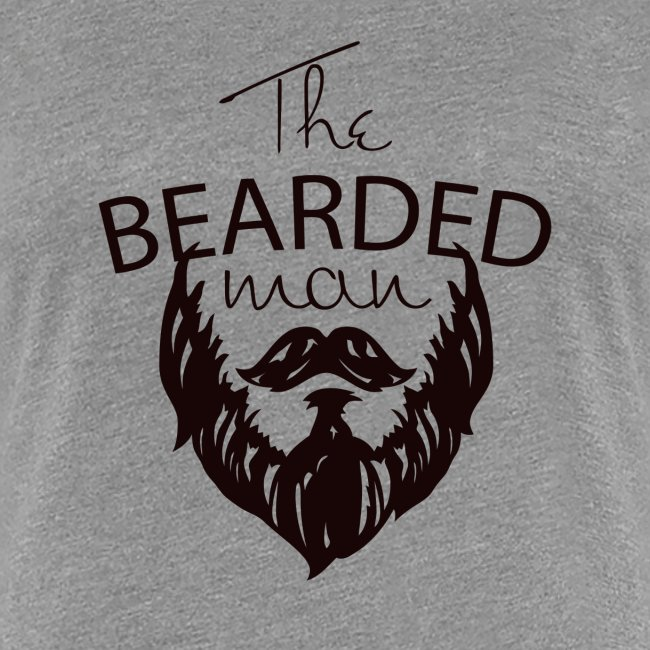 The bearded man