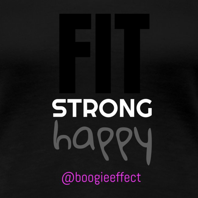 fit strong happy colour