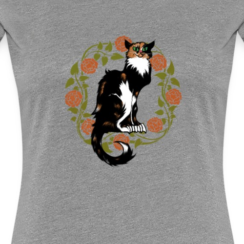 Calico Cat - Women's Premium T-Shirt