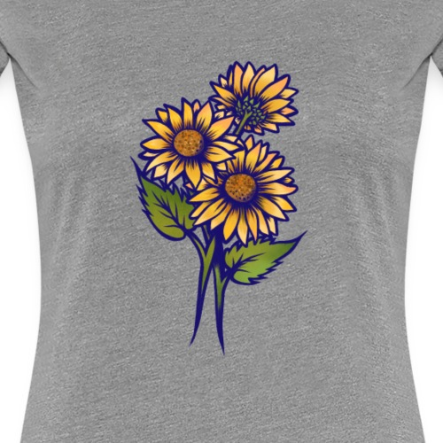 Yellow Daisies - Women's Premium T-Shirt