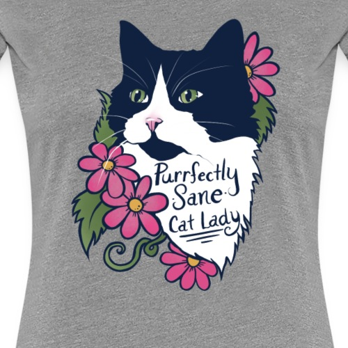 Tuxedo Cat - Women's Premium T-Shirt