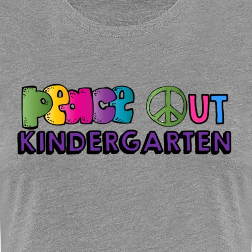 peace out k png - Women's Premium T-Shirt