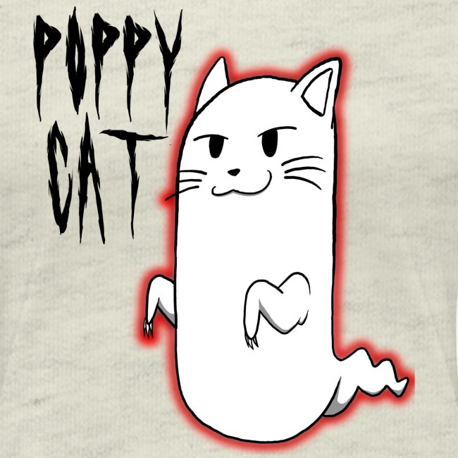 cat shirt poppy