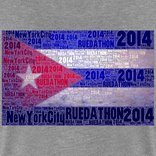 light ruedathon flag jpeg - Women's Premium T-Shirt