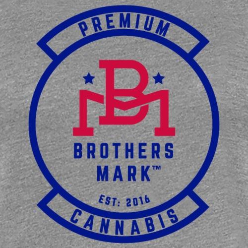 Veterans Cannabis Group & Blue Brothers Mark Logo - Women's Premium T-Shirt