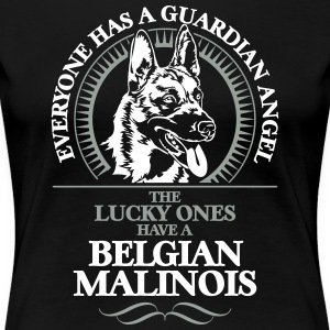 GUARDIAN ANGEL BELGIAN MALINOIS - Women's Premium T-Shirt