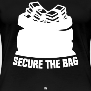 Secure The Bag - Women's Premium T-Shirt