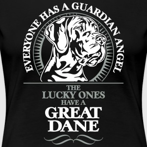 GUARDIAN ANGEL GREAT DANE - Women's Premium T-Shirt