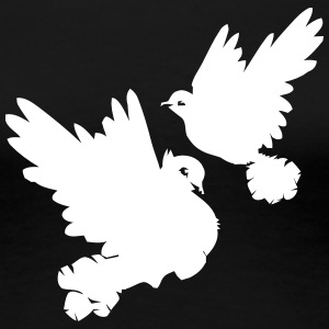 Pigeons and doves - Women's Premium T-Shirt