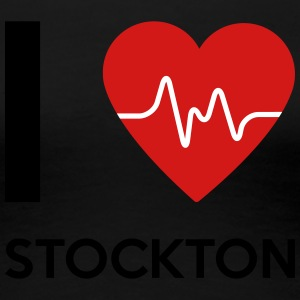 I Love Stockton - Women's Premium T-Shirt