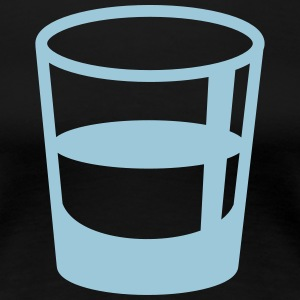glass shot - Women's Premium T-Shirt
