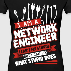 NETWORK ENGINEER SHIRT - Women's Premium T-Shirt