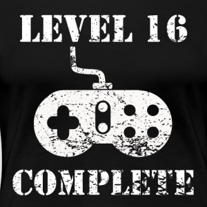 Level 16 Complete 16th Birthday - Women's Premium T-Shirt