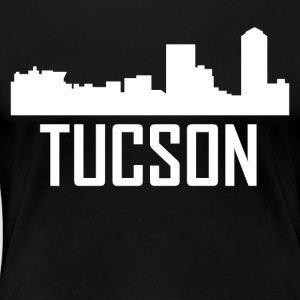 Tucson Arizona City Skyline - Women's Premium T-Shirt