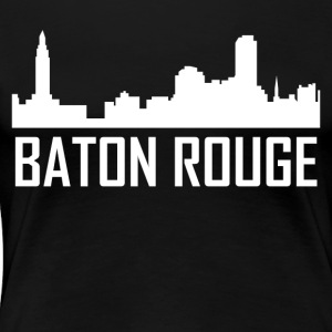 Baton Rouge Louisiana City Skyline - Women's Premium T-Shirt