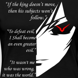 The Testament of Lelouch Vi Britannia - Women's Premium T-Shirt