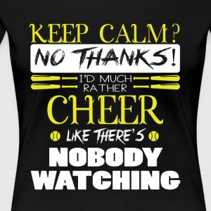 'd Much Rather Cheer T Shirt - Women's Premium T-Shirt