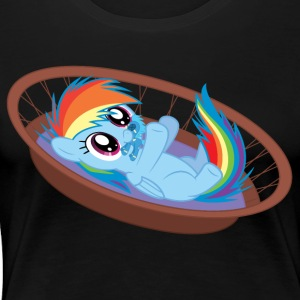 my little pony rainbow - Women's Premium T-Shirt