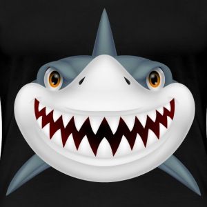 Scary Shark - Women's Premium T-Shirt